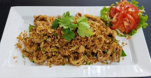 Squid Calamari Garlic Tumz Seafood Restaurant